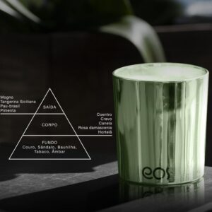Vela perfumada ecológica EOS